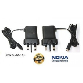 Nokia Ac-18x UK Micro Pin Charger