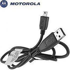MOTOROLA SKN6371C MINI USB DATA CABLE - BLACK