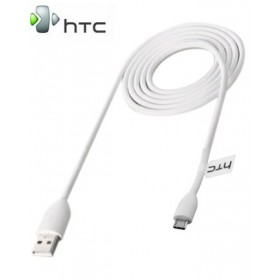 HTC  MICRO USB DATA CABLE -  WHITE DMC410