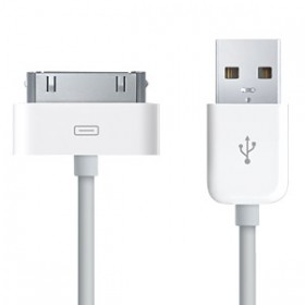 Genuine Offical Apple USB Data Cable - 30 Pin Connector