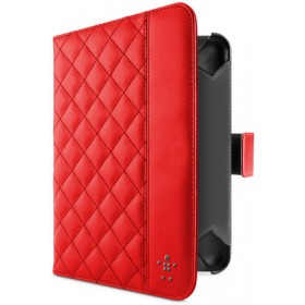 Belkin Quilted Tab Folio with Stand for Kindle Fire/Kindle Fire HD - Red