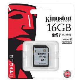 Kingston 16GB SDHC SD Card Class 10 UHS-I Model SD10VG2/16GB