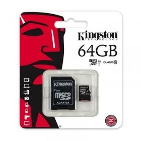 Kingston 64GB SDHC SD Card Class 10 UHS-I Model SD10VG2/64GB