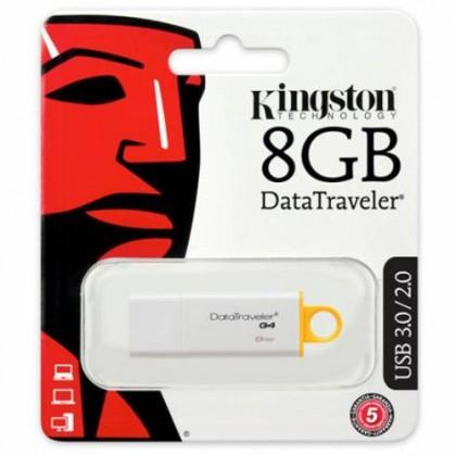 Kingston 8GB USB 3.0 DataTraveler G4 Flash Drive (DTIG4/8GB)