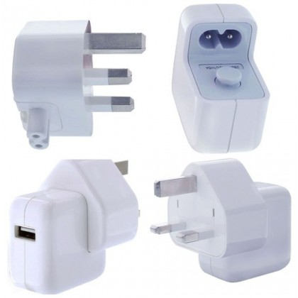APPLE A1357 2.1AMP  MAINS CHARGER PLUG