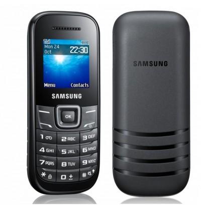 Samsung E1200 Black Sim Free Mobile Phone