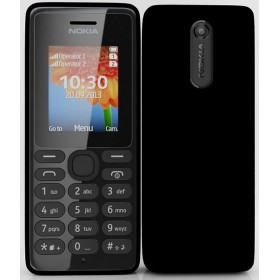 Nokia 108 Dual Sim Mobile Phone Sim Free- Black